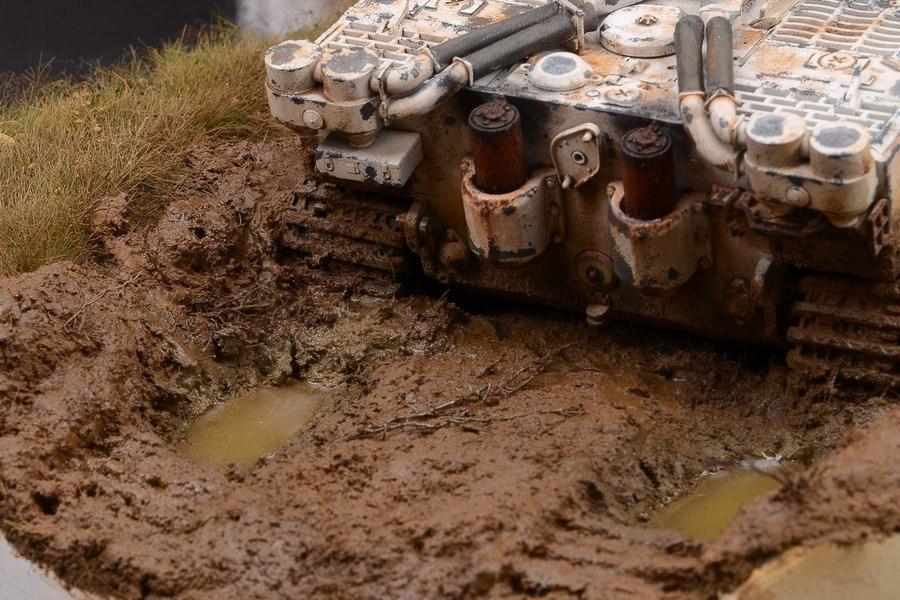 Имитация грязи из подручных материалов