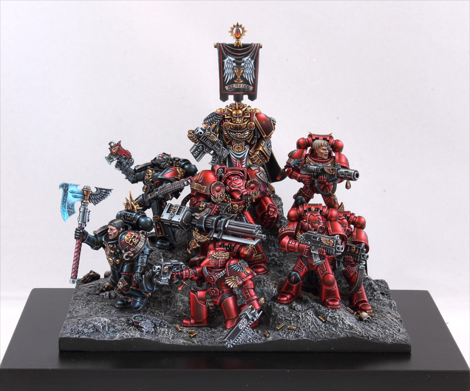 Blood Angels Battle Brothers