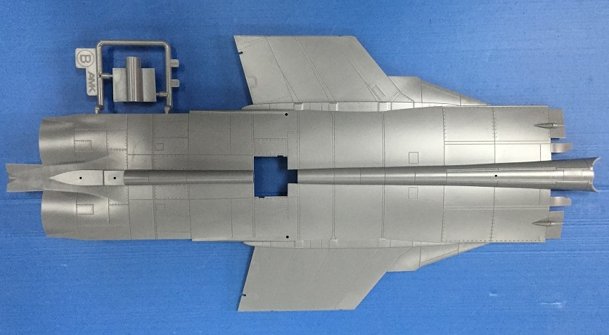 Литники AMK 1/48 Mikoyan MiG31 B/BS Foxhound