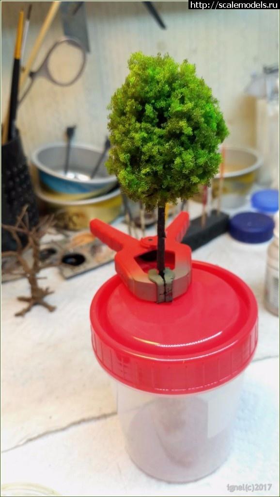 Делаем модели деревьев для игрового стола или диорамы