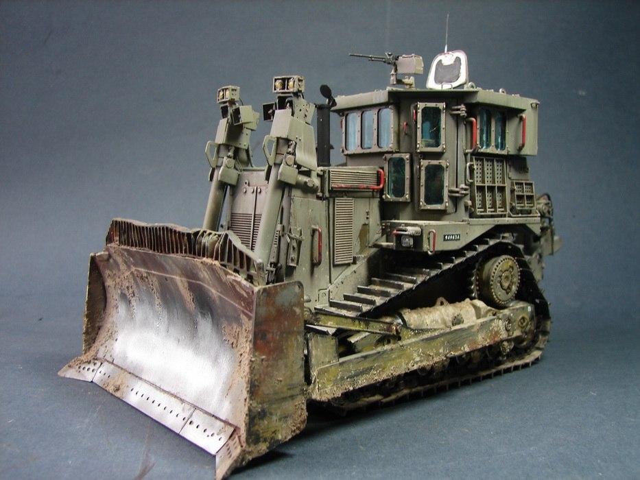 """D9R """"Doobi"""" Armored Bulldozer"""