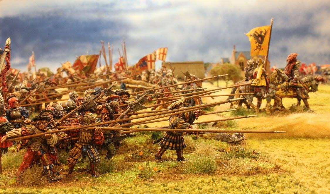 Фото дня: Атака пехоты Священной Римской Империи