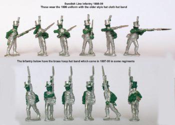 Анонс Шведской Линейной Пехоты и Датских Егерей от Perry Miniatures