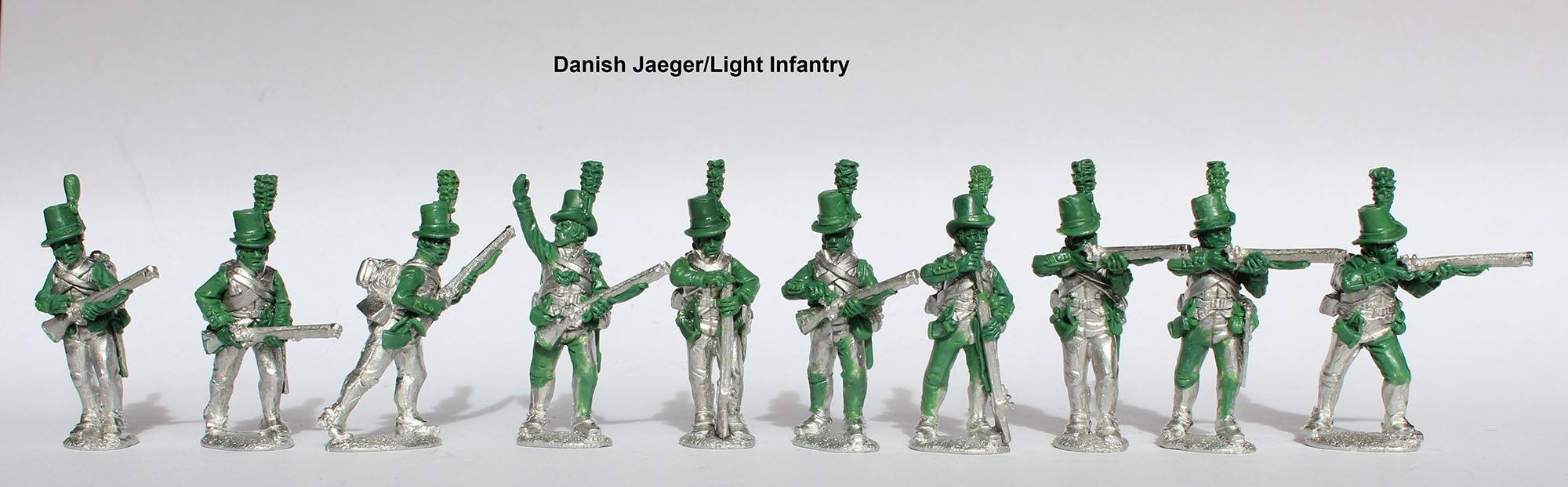 Анонс - Датские егеря и легкая пехота1808-1809гг - Perry Miniatures