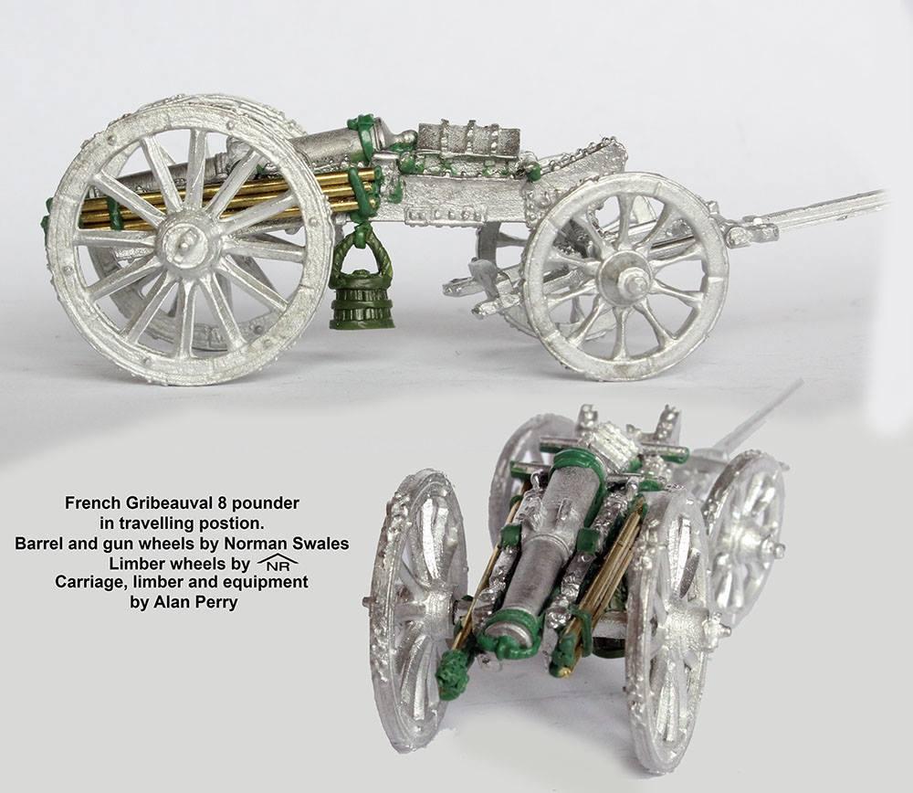 Анонс - 8и фунтовая пушка - Наполеоника - Perry Miniatures