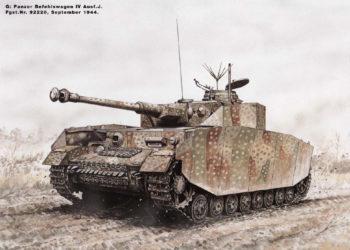 Камуфляж танков «Panzer IV» (PzKpfw IV, Panzerkampfwagen IV) в различные периоды Второй Мировой Войны.