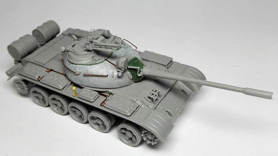 Rafal Buber Kubic работает над Т-55