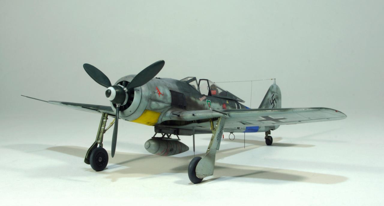 Fw 190-A8 2/JG 54 . Lt' Hans Dortenmann