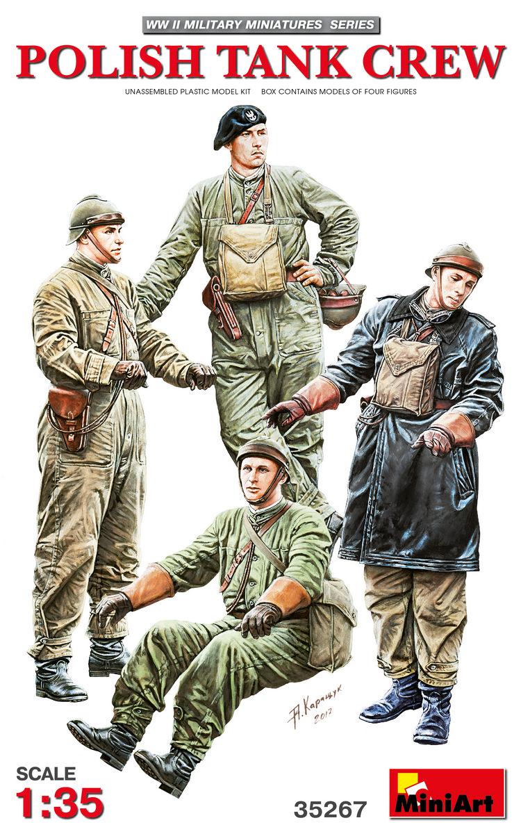Польский танковый экипаж (1/35 - 35267 MiniArt)