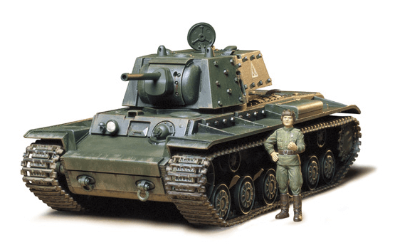 Новая модель от Tamiya: KV-1B with Applique Armor (1:35 - Tamya 35142)