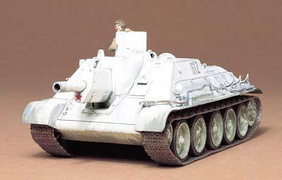 Новая модель от Tamiya: Russian Tank Destroyer SU-122 (1:35 - Tamya 35093)
