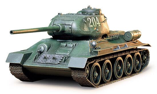 Новая модель от Tamiya: T34/85 (1:35 - Tamiya 35138)