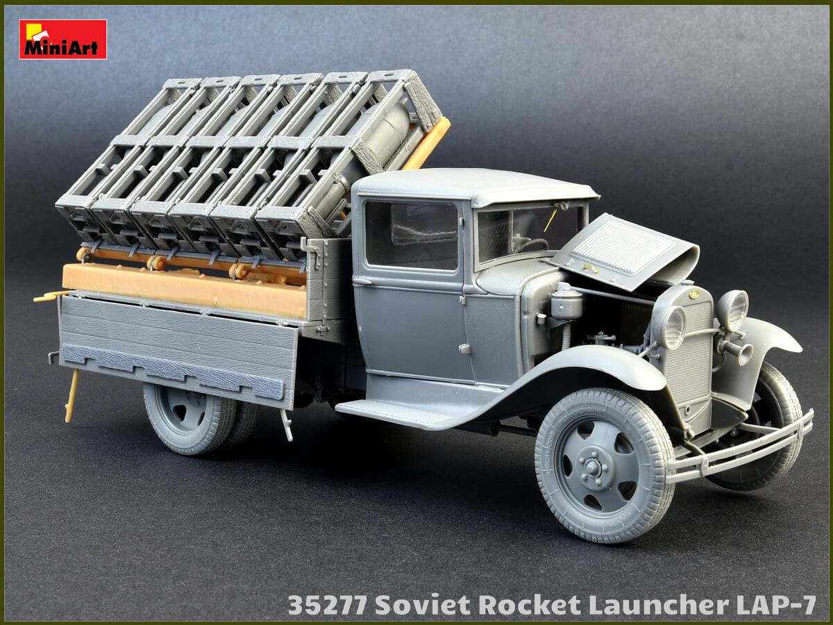 Советская ракетная установка ЛАП-7 (1/35 - Miniart 35277)