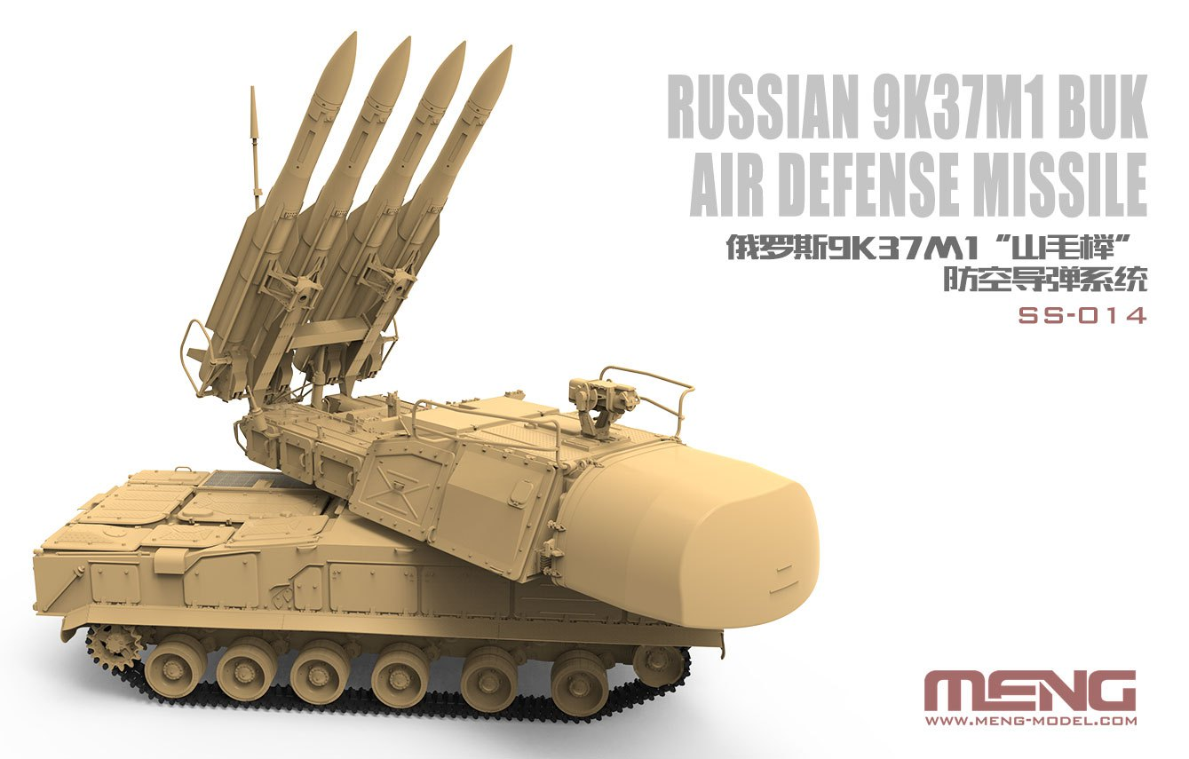 9K37M1 Buk Air Defense Missile System - SS-014 Meng 1/35