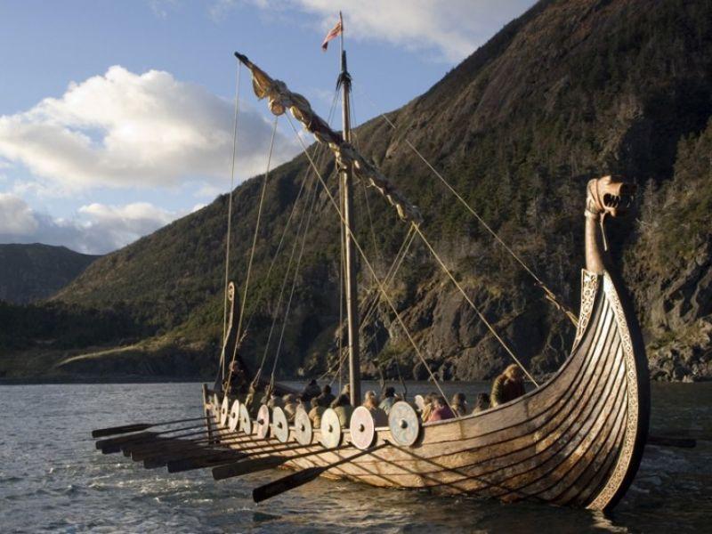 Драккар викингов - подборка фотографий