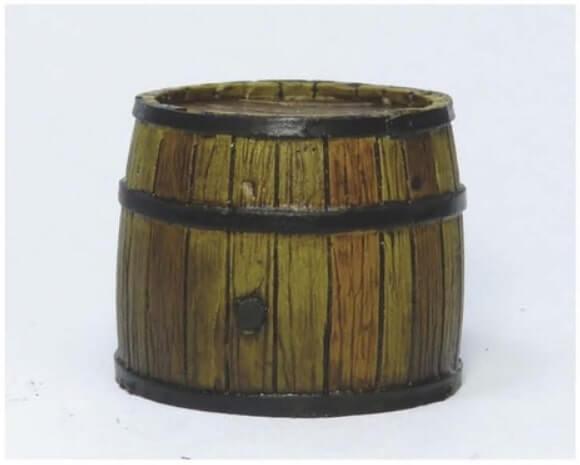 Делаем проливку - Красим деревянные бочки - пошаговый гайд