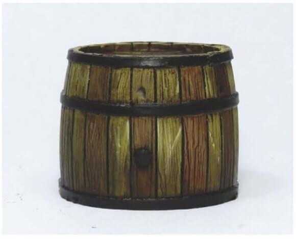 Еще немного тонировки - Красим деревянные бочки - пошаговый гайд