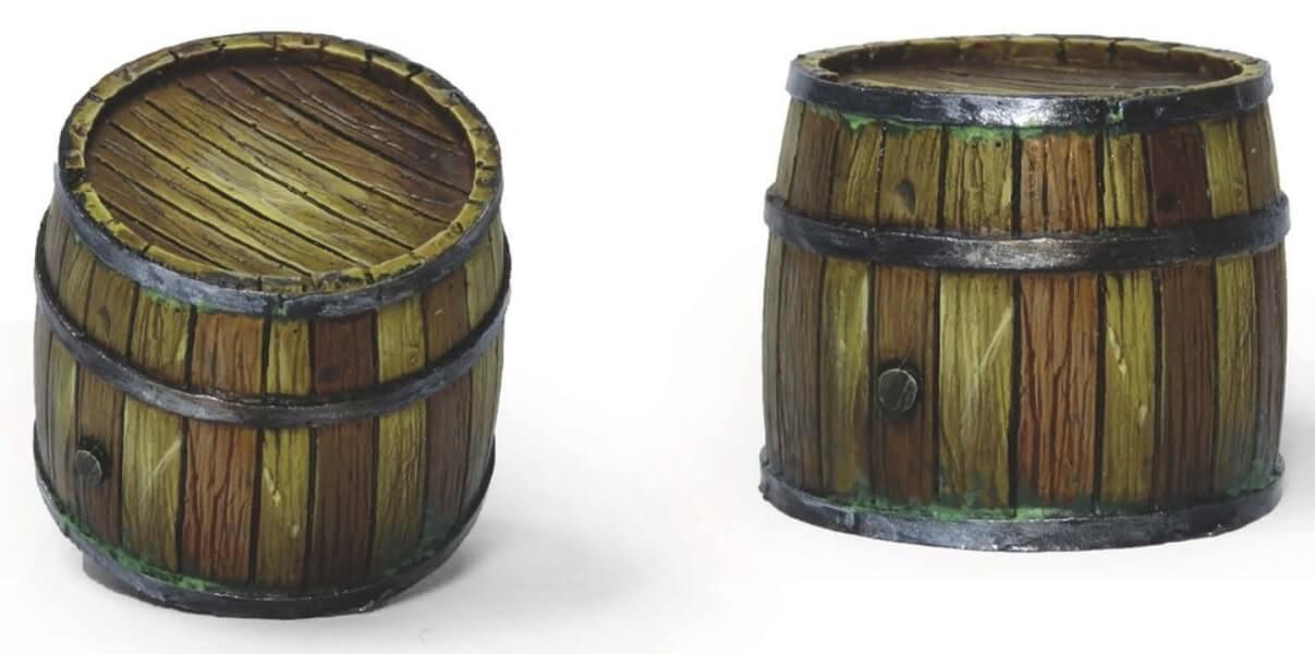 Результат - реалистичная деревянная бочка - пошаговый гайд