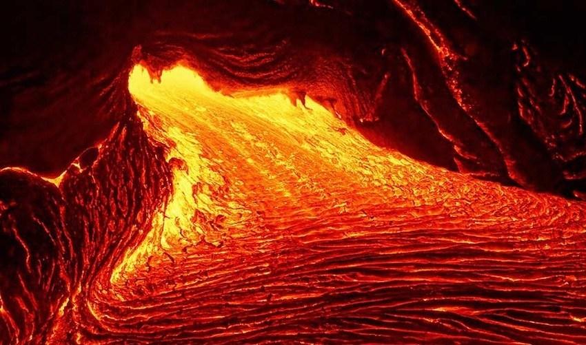 Референс лавы - так выглядит настоящая лава